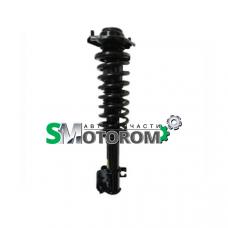 Амортизатор передний левый (пружина+опора+стойка в сборе) (газ-масло)