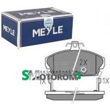 Колодки тормозные передние (комплект 4шт) Meyle