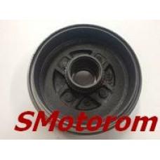 Барабан тормозной задний (под двухрядный подшипник, d=38мм) CK