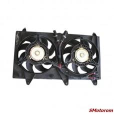 Вентилятор радиатора охлаждения в сборе (с диффузором)