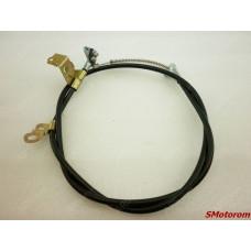 Трос ручника левый (стояночного ручного тормоза)
