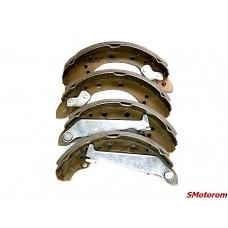 Колодки тормозные задние (комплект 4шт) Remsa