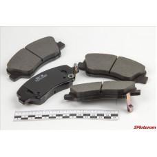 Колодки тормозные передние (комплект 4шт) Intelli