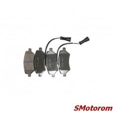 Колодки тормозные передние (без пружинки) (комплект 4шт)