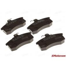 Колодки тормозные передние (с пружинками сверху) (комплект 4шт)