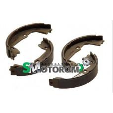 Колодки ручника (комплект 4шт) стояночного тормоза
