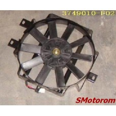 Вентилятор кондиционера (круглый, с диффузором)