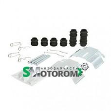 Ремкомплект заднего суппорта с пластинами прижимными (полный)