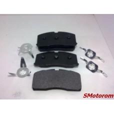 Колодки тормозные передние (c ABS-АБС) (комплект 4шт) ABE