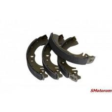 Колодки тормозные задние (с ABS-АБС) (комплект 4шт)