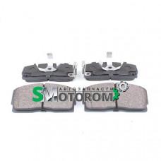 Колодки тормозные передние (c ABS-АБС) (комплект 4шт)