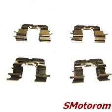 Пластины задних колодок (комплект 4шт) (пружина прижимная монтажная)