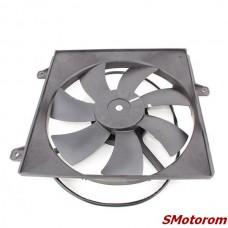 Вентилятор радиатора кондиционера 2.4 (автомат) (с диффузором)