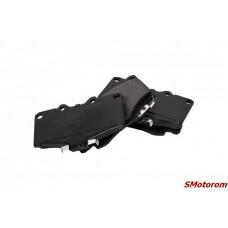 Колодки тормозные передние (4х4) (комплект 4шт)