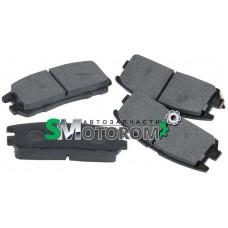 Колодки тормозные задние (комплект 4шт)